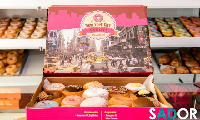 NEW YORK CITY DONUTS