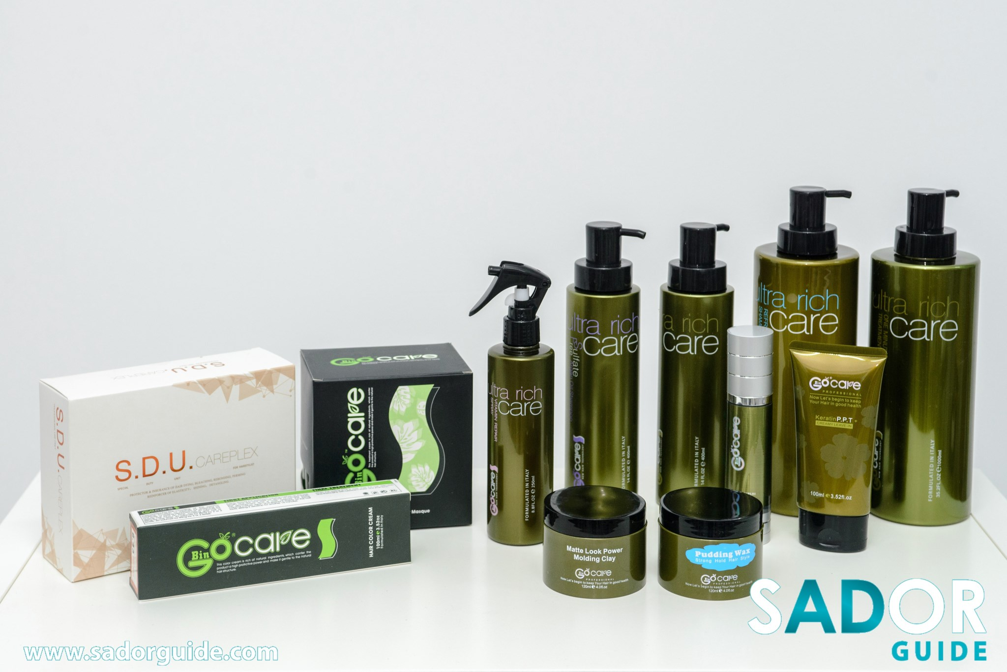 professional hair styling products gocare professional hair care ltd sador guide 8036 | GOCARE 9 YIO 4751